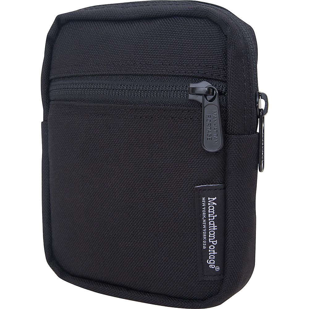 Manhattan Portage Trek Zipper Electronic Pouch Black - Manhattan Portage Electronic Cases - Technology, Electronic Cases