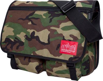 Manhattan Portage Europa With Back Zipper Large Shoulder Bag Camouflage - Manhattan Portage Other Men's Bags