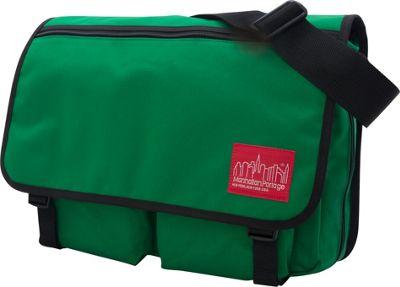 Manhattan Portage Europa With Back Zipper Large Shoulder Bag Green - Manhattan Portage Other Men's Bags