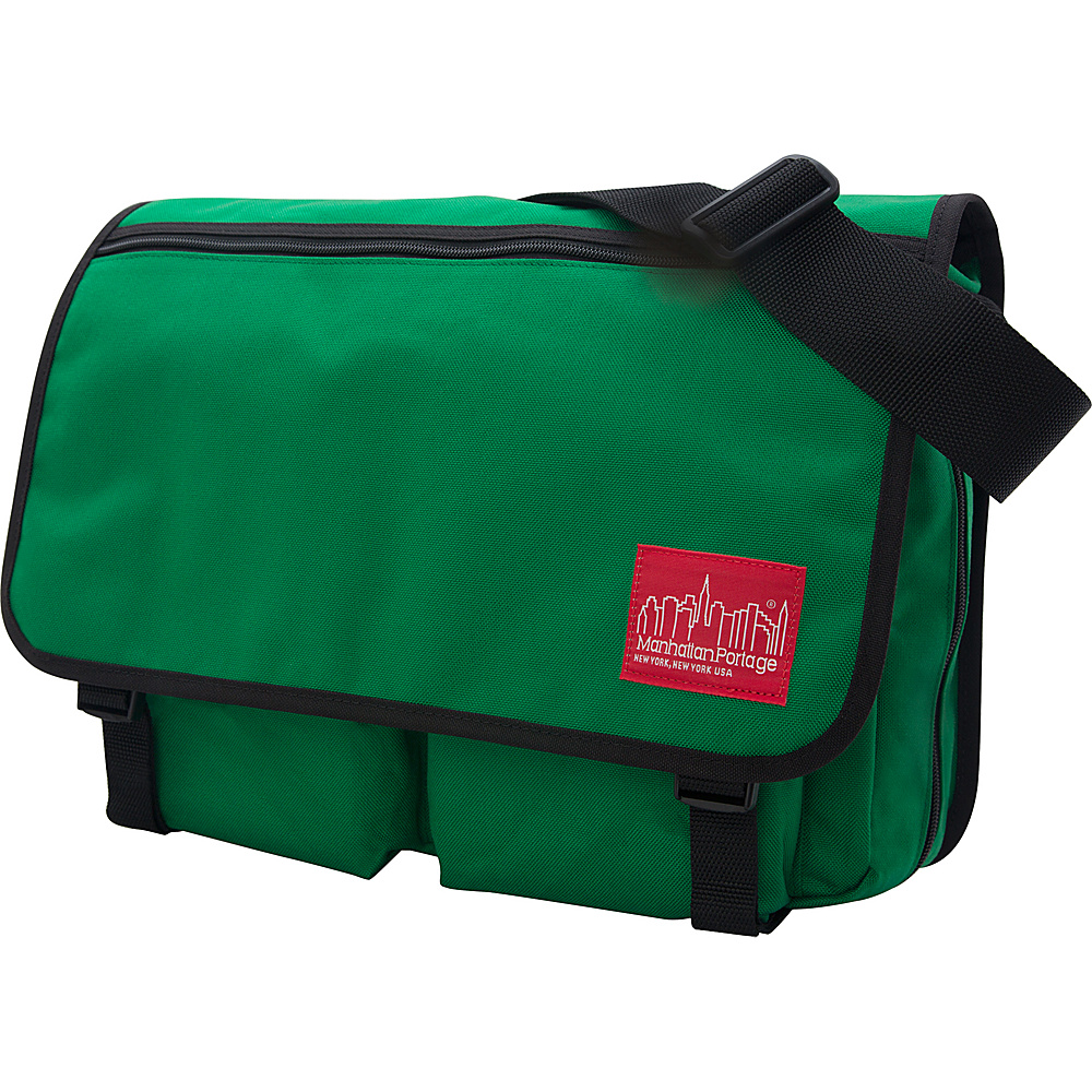 Manhattan Portage Europa With Back Zipper Large Shoulder Bag Green - Manhattan Portage Other Mens Bags - Work Bags & Briefcases, Other Men's Bags