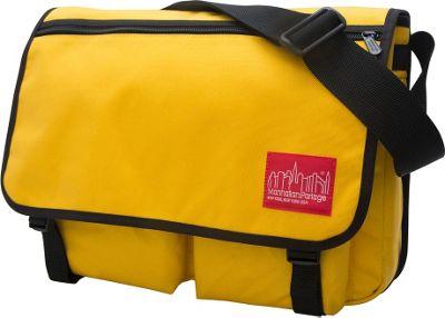 Manhattan Portage Europa With Back Zipper Large Shoulder Bag Mustard - Manhattan Portage Other Men's Bags