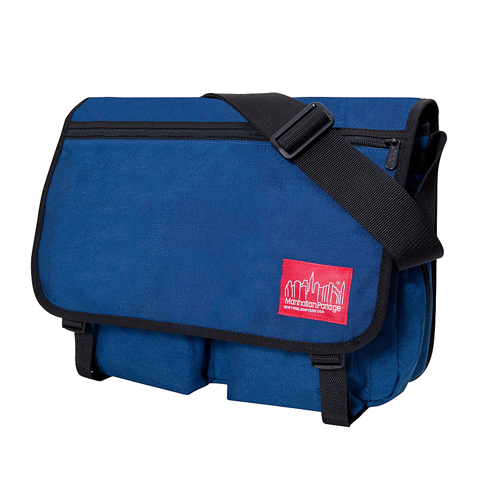 Manhattan Portage Europa With Back Zipper Large Shoulder Bag Navy - Manhattan Portage Other Mens Bags - Work Bags & Briefcases, Other Men's Bags