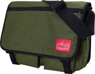 Manhattan Portage Europa With Back Zipper Large Shoulder Bag Olive - Manhattan Portage Other Men's Bags