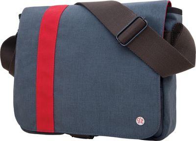 TOKEN Astor Shoulder Bag (S) Grey/Red - TOKEN Men's Bags