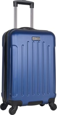 Heritage Lincoln Park 20 inch Carry-On Spinner Cobalt - Heritage Hardside Carry-On