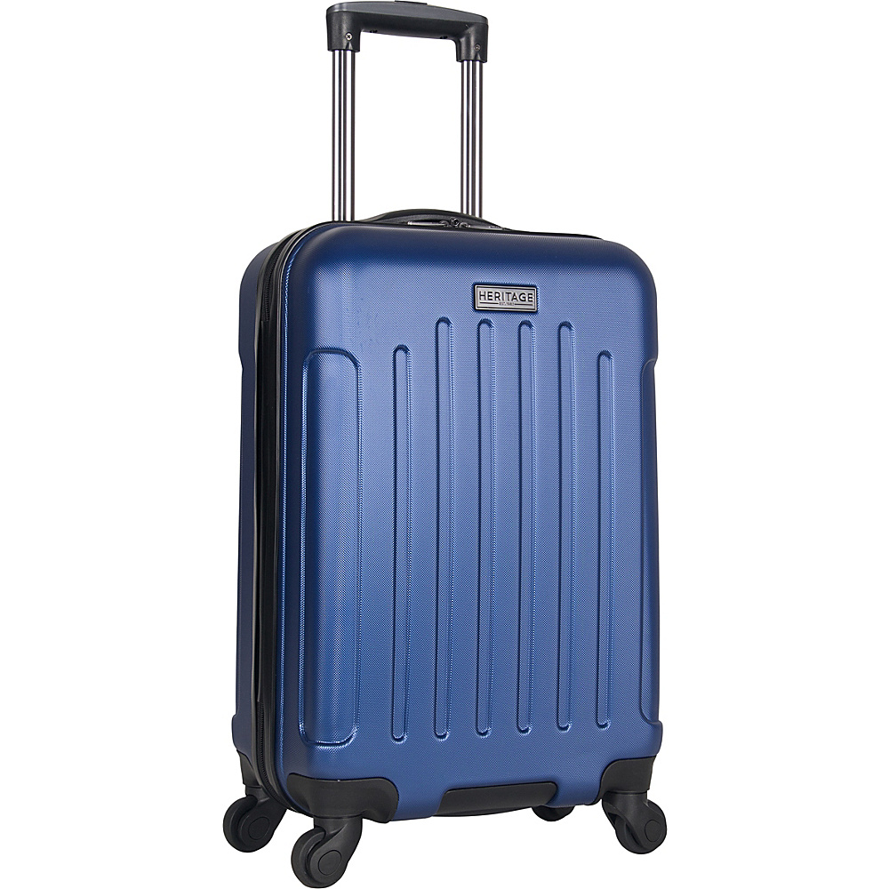 Heritage Lincoln Park 20 Carry On Spinner Cobalt Heritage Hardside Carry On