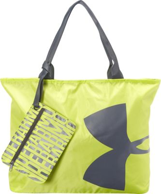 Under Armour Big Logo Tote Flash Light/Phantom Gray/Phantom Gray - Under Armour Gym Bags