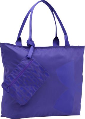 Under Armour Big Logo Tote Deep Orchid - Under Armour Gym Duffels