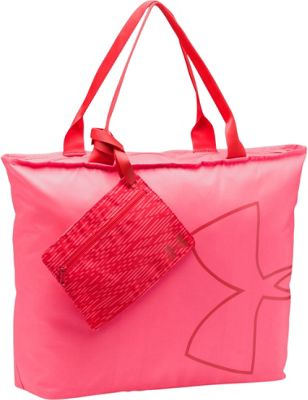 Under Armour Big Logo Tote Pink Shock/Pomegranate/Pomegranate - Under Armour Gym Duffels