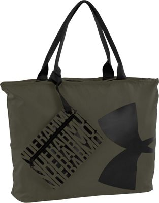Under Armour Big Logo Tote Downtown Green/Black/Black - Under Armour All-Purpose Totes