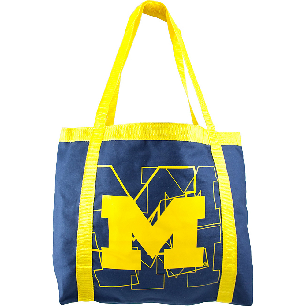 Littlearth Team Tailgate Tote - Big Ten Teams Michigan, U of - Littlearth Fabric Handbags - Handbags, Fabric Handbags