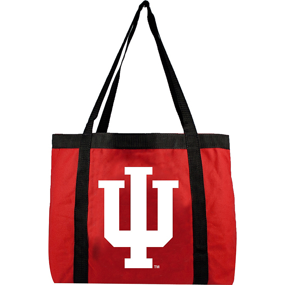 Littlearth Team Tailgate Tote - Big Ten Teams Indiana University - Littlearth Fabric Handbags - Handbags, Fabric Handbags