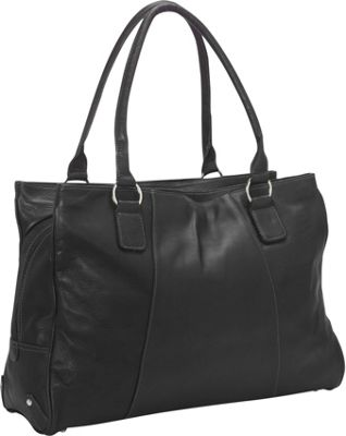 Piel Laptop Travel Tote Black - Piel Women's Business Bags