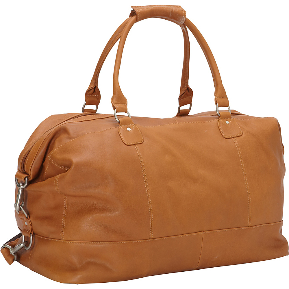 Piel Large Classic Carry On Satchel Honey - Piel Travel Duffels - Duffels, Travel Duffels