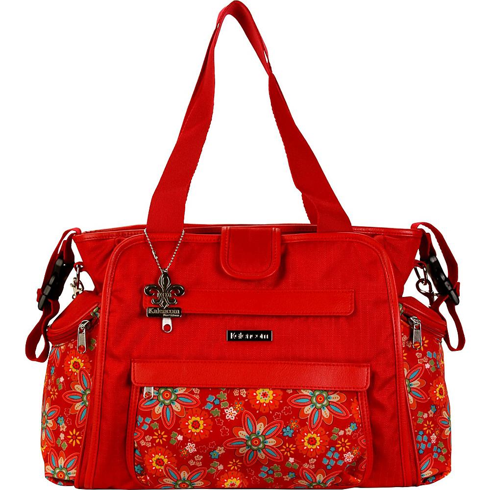 Kalencom Nola Tote Diaper Bag Primavera Floral - Kalencom Diaper Bags & Accessories