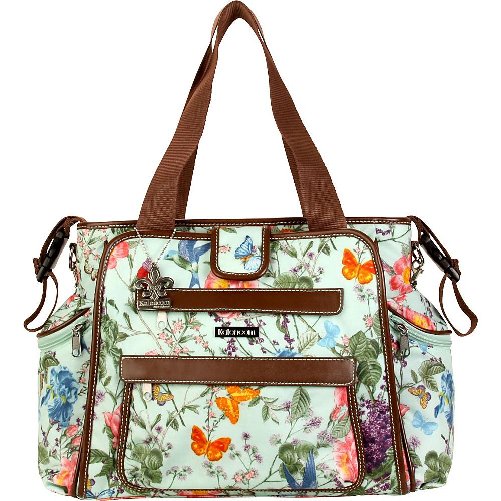 Kalencom Nola Tote Diaper Bag Springtime - Kalencom Diaper Bags & Accessories