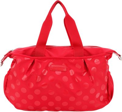Stellakim Olivia Dot Diaper Tote Red - Stellakim Diaper Bags & Accessories