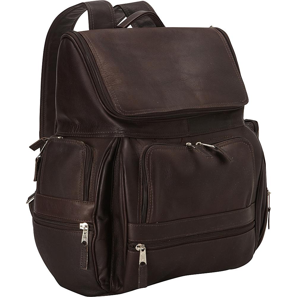 Latico Leathers Explorer Laptop Backpack Café - Latico Leathers Business & Laptop Backpacks - Backpacks, Business & Laptop Backpacks