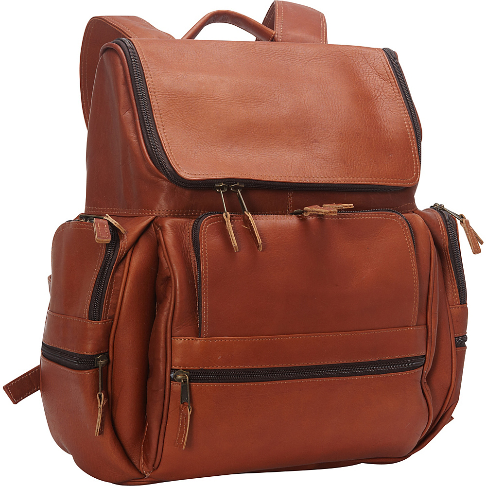 Latico Leathers Explorer Laptop Backpack Natural - Latico Leathers Business & Laptop Backpacks