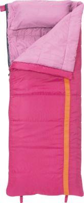 Slumberjack Kit 40 Degree Girls Short Right Hand Sleeping Bag Pink - Slumberjack Outdoor Accessories