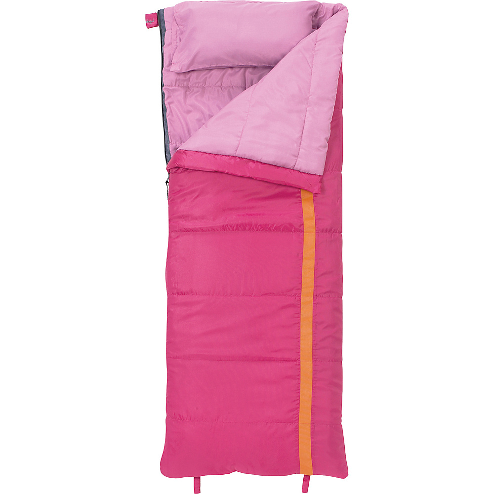 Slumberjack Kit 40 Degree Girls Short Right Hand Sleeping Bag Pink - Slumberjack Outdoor Accessories