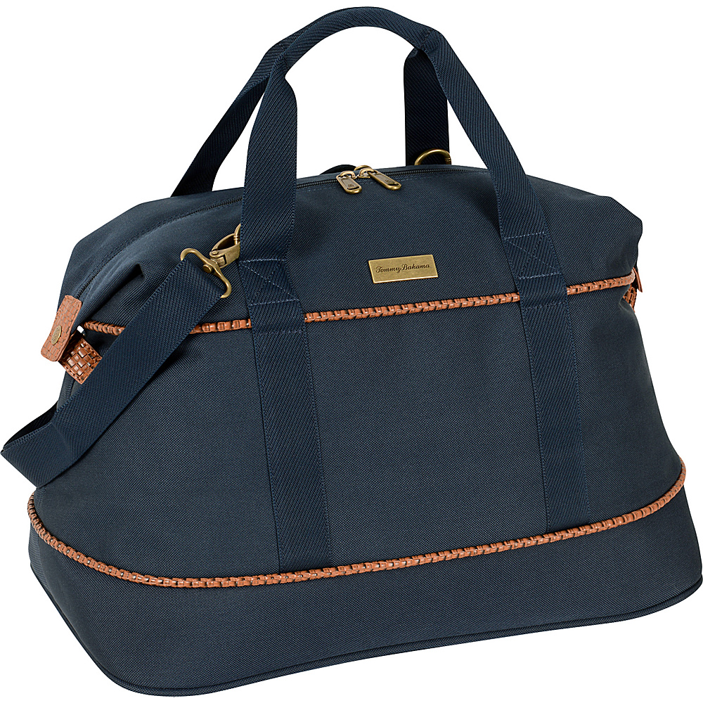Tommy Bahama Mojito 20  Duffle Navy - Tommy Bahama Travel Duffels Mojito 20  Duffle Navy. A classic and well-made Tommy Bahama luggage piece that is ideally suited for all of your vacation and travel needs.
