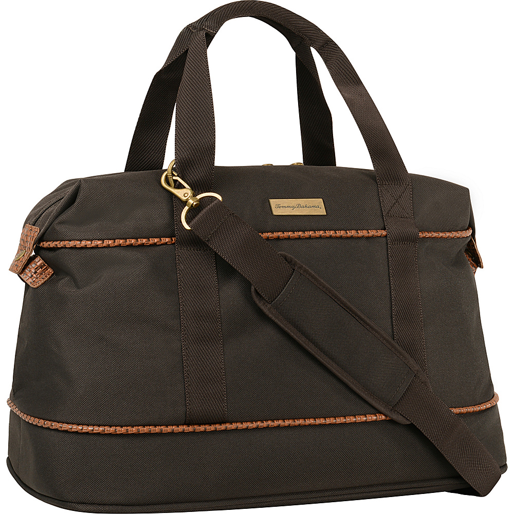 "Tommy Bahama Mojito 20"" Duffle Dark Brown - Tommy Bahama Travel Duffels"