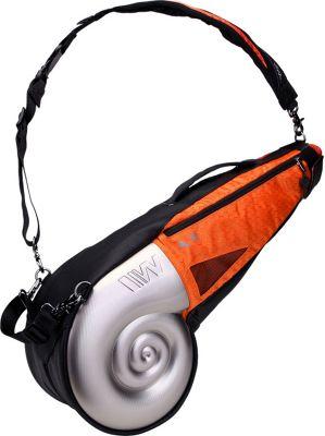 Wellzher Nautilus Driving Range Sunday Bag Silver/Orange - Wellzher Golf Bags