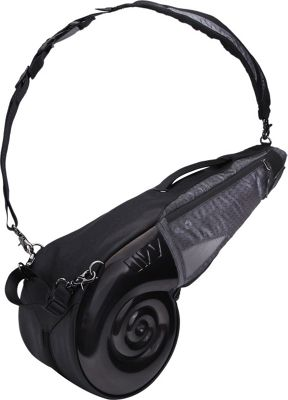 Wellzher Nautilus Driving Range Sunday Bag Black/Grey - Wellzher Golf Bags