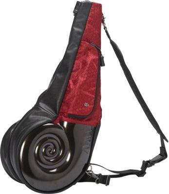 Wellzher Nautilus Driving Range Sunday Bag Black/Burgundy - Wellzher Golf Bags