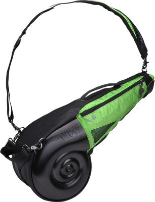 Wellzher Nautilus Driving Range Sunday Bag Black/Green - Wellzher Golf Bags