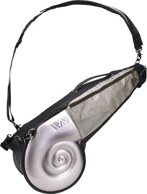 Wellzher Nautilus Driving Range Sunday Bag Silver/Silver - Wellzher Golf Bags