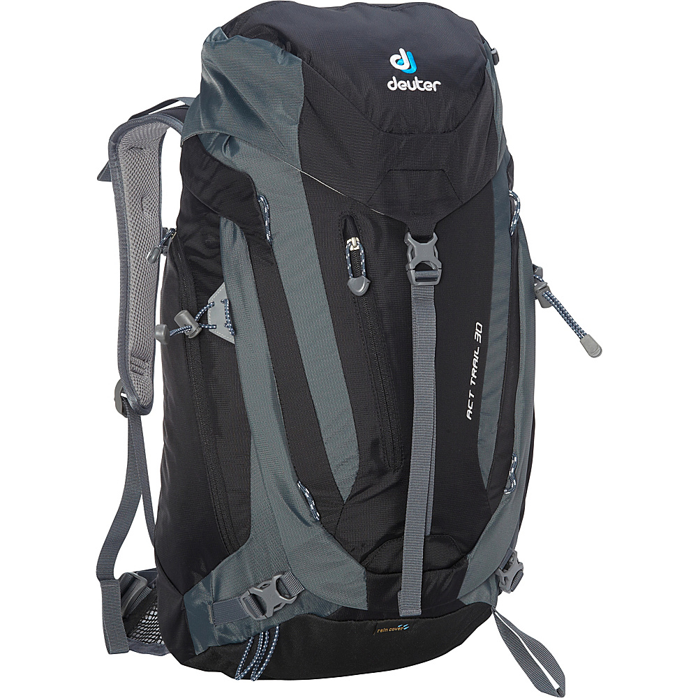 Deuter ACT Trail 30 Hiking Backpack Black Granite Deuter Day Hiking Backpacks