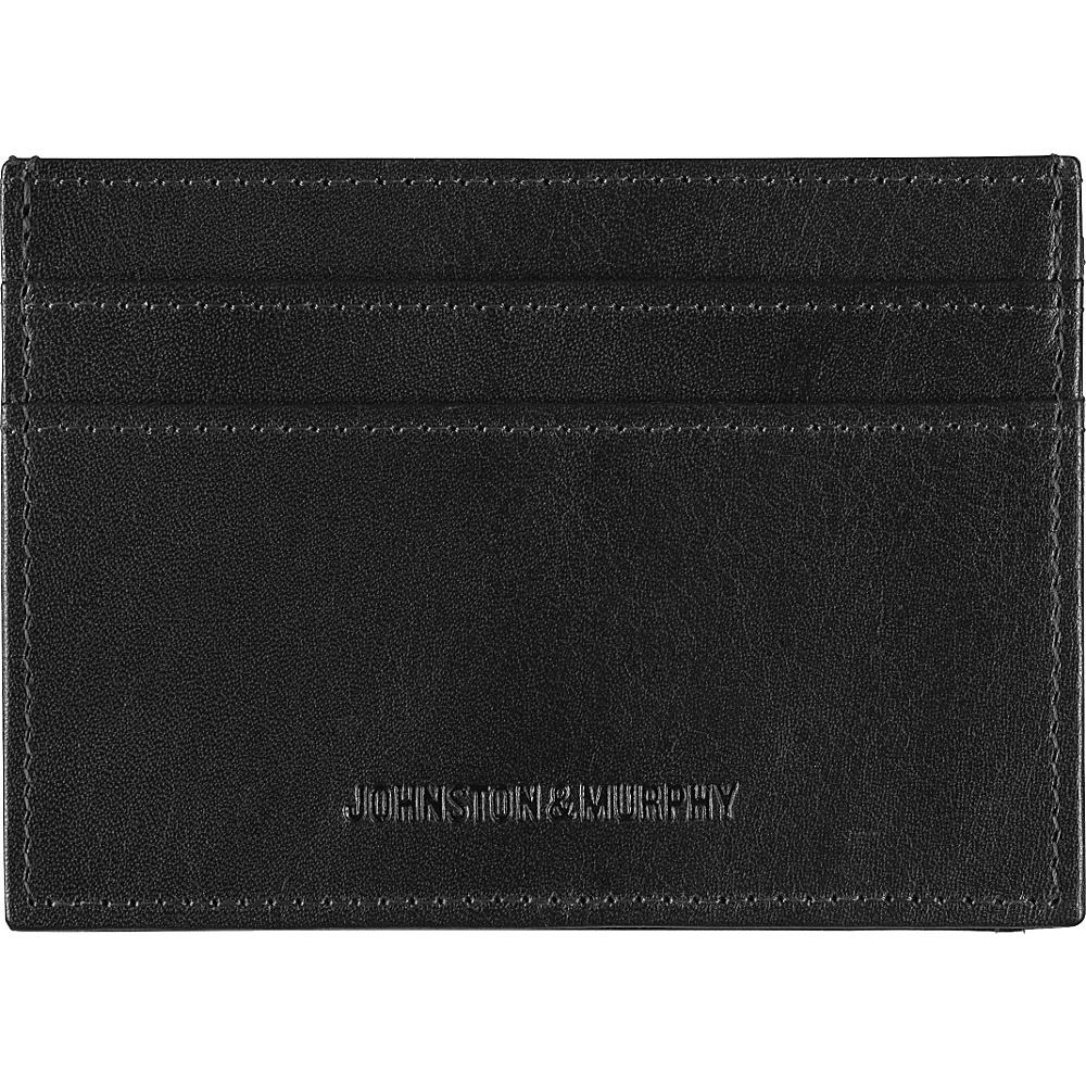 Johnston Murphy Weekender Case Black Johnston Murphy Men s Wallets