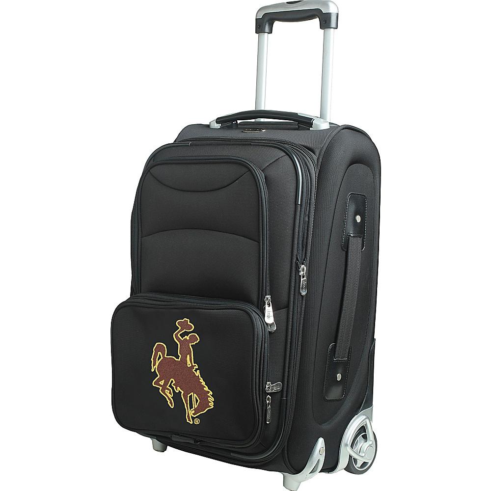 Denco Sports Luggage NCAA 21 Wheeled Upright University of Wyoming Cowboys - Denco Sports Luggage Softside Carry-On - Luggage, Softside Carry-On