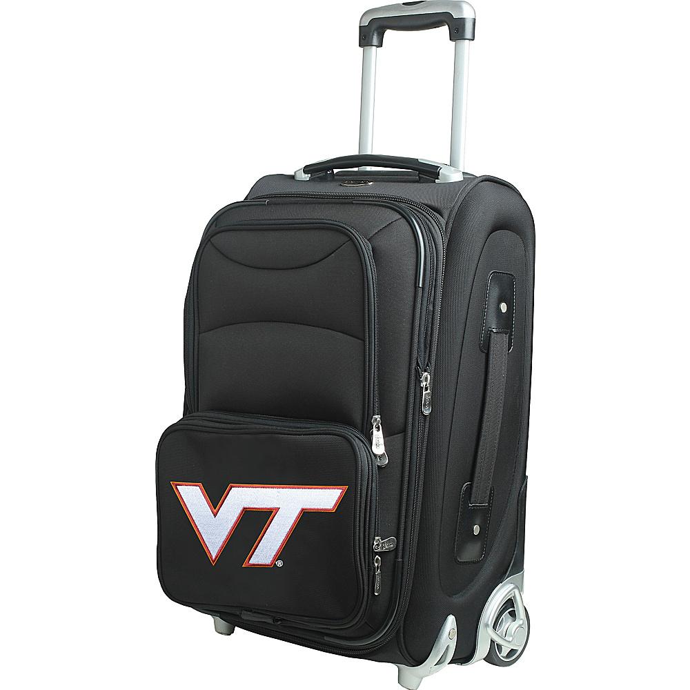 Denco Sports Luggage NCAA 21 Wheeled Upright Virginia Tech Hokies - Denco Sports Luggage Softside Carry-On - Luggage, Softside Carry-On