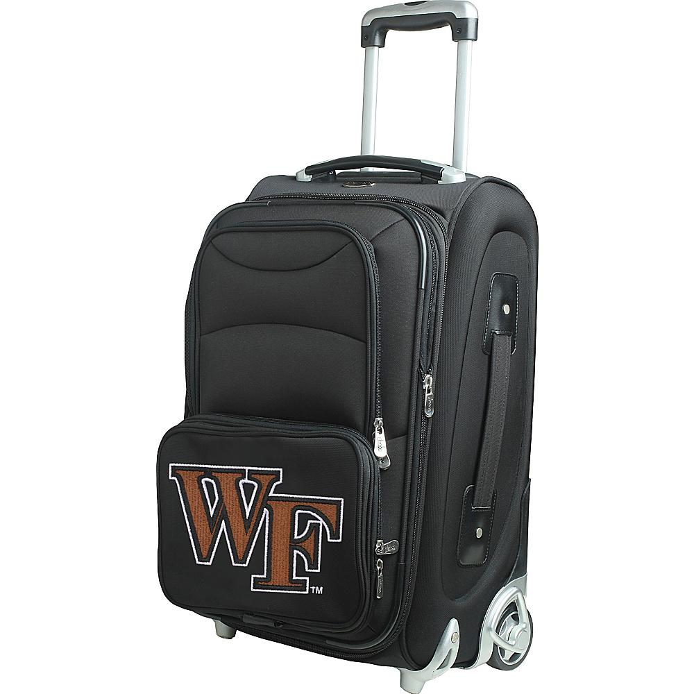 Denco Sports Luggage NCAA 21 Wheeled Upright Wake Forest University Demon Deacons - Denco Sports Luggage Softside Carry-On - Luggage, Softside Carry-On