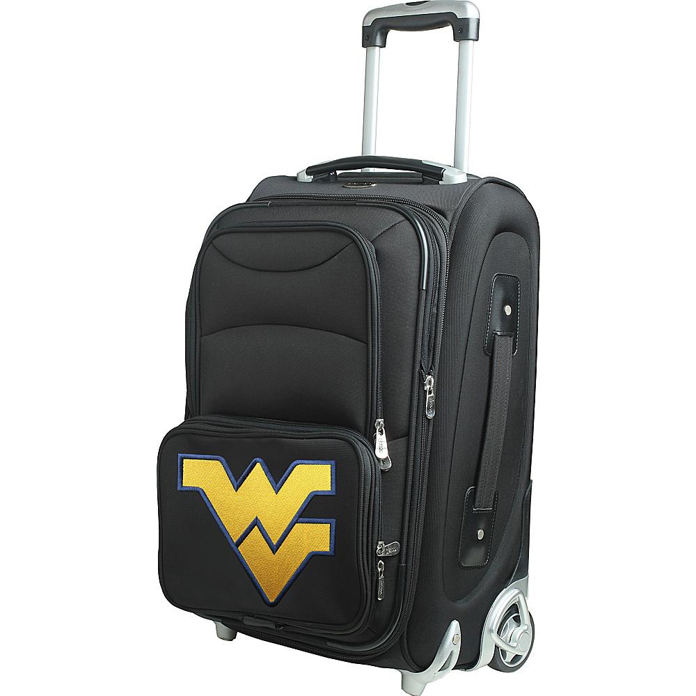 Denco Sports Luggage NCAA 21 Wheeled Upright West Virginia University Mountaineers - Denco Sports Luggage Softside Carry-On - Luggage, Softside Carry-On