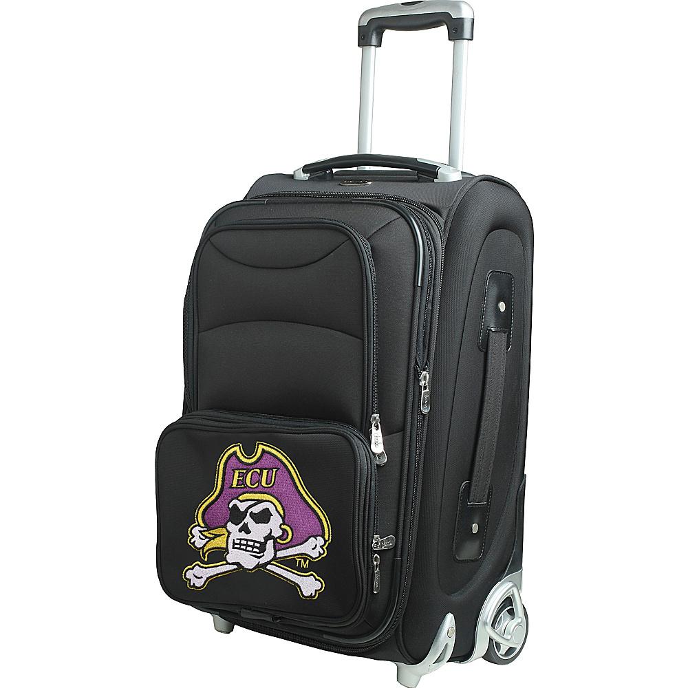 Denco Sports Luggage NCAA 21 Wheeled Upright East Carolina University Pirates - Denco Sports Luggage Softside Carry-On - Luggage, Softside Carry-On