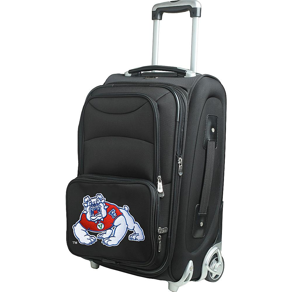Denco Sports Luggage NCAA 21 Wheeled Upright California State University, Fresno Bullsdogs - Denco Sports Luggage Softside Carry-On - Luggage, Softside Carry-On