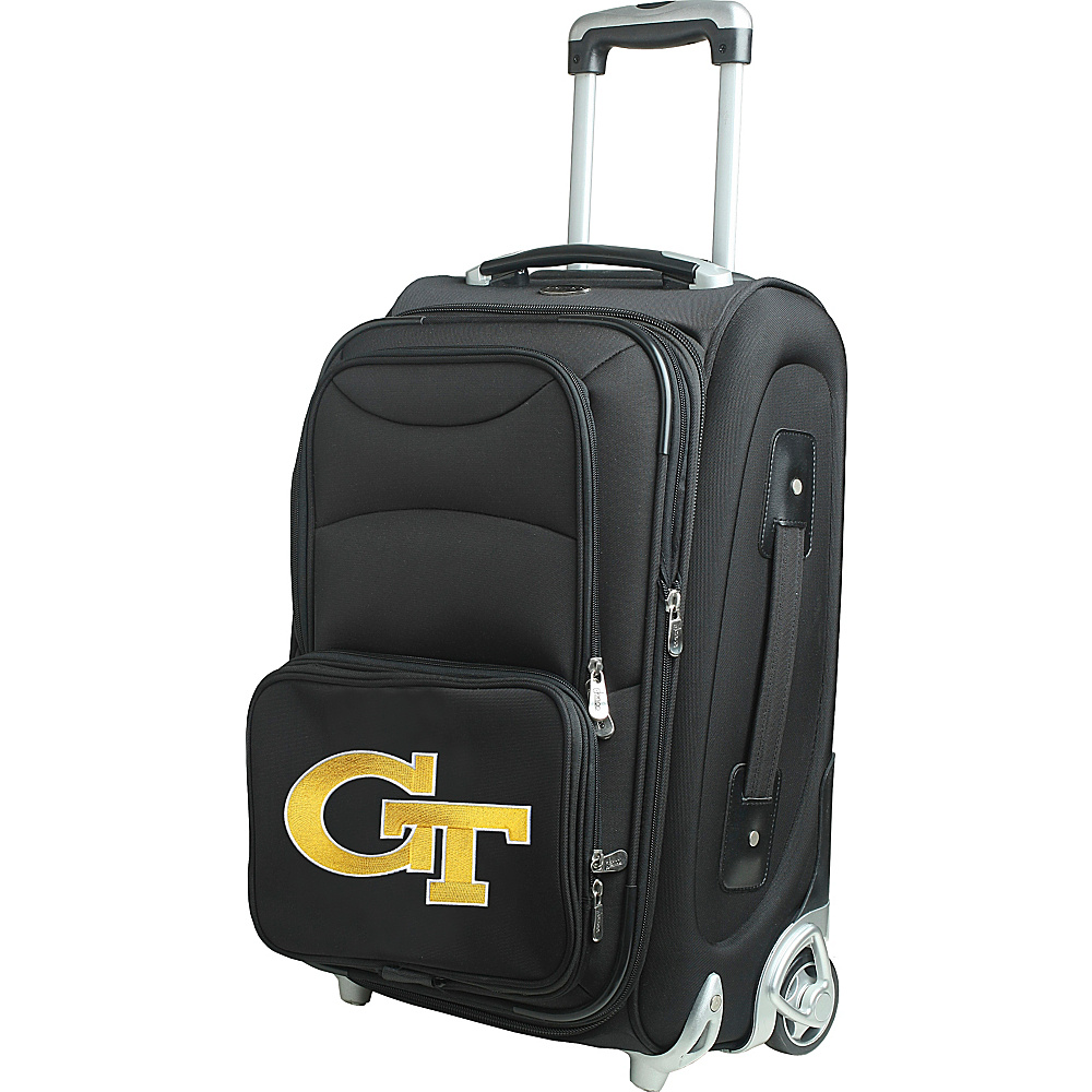 Denco Sports Luggage NCAA 21 Wheeled Upright Georgia Institute of Technology Yellow Jackets - Denco Sports Luggage Softside Carry-On - Luggage, Softside Carry-On