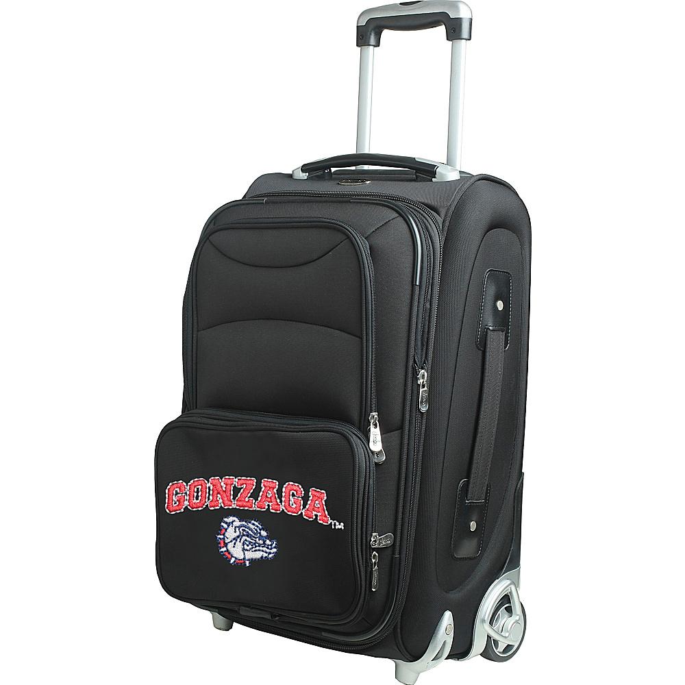 Denco Sports Luggage NCAA 21 Wheeled Upright Gonzaga University Bulldogs - Denco Sports Luggage Softside Carry-On - Luggage, Softside Carry-On