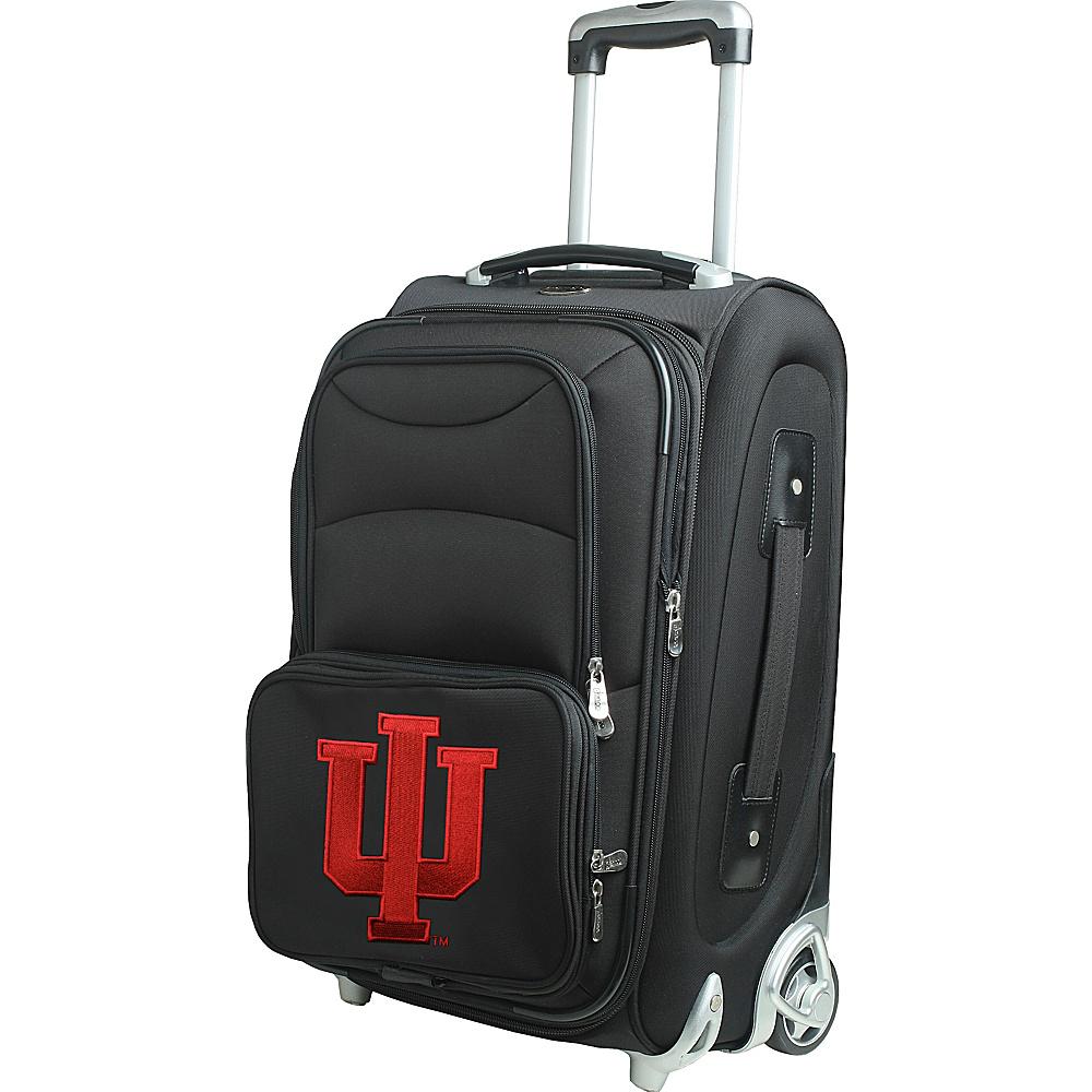 Denco Sports Luggage NCAA 21 Wheeled Upright Indiana University Hoosiers - Denco Sports Luggage Softside Carry-On - Luggage, Softside Carry-On