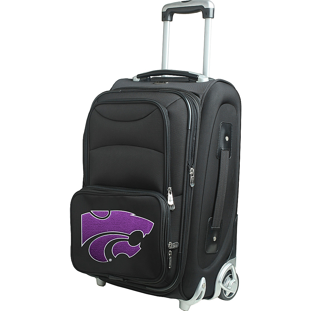 Denco Sports Luggage NCAA 21 Wheeled Upright Kansas State University Wildcats - Denco Sports Luggage Softside Carry-On - Luggage, Softside Carry-On