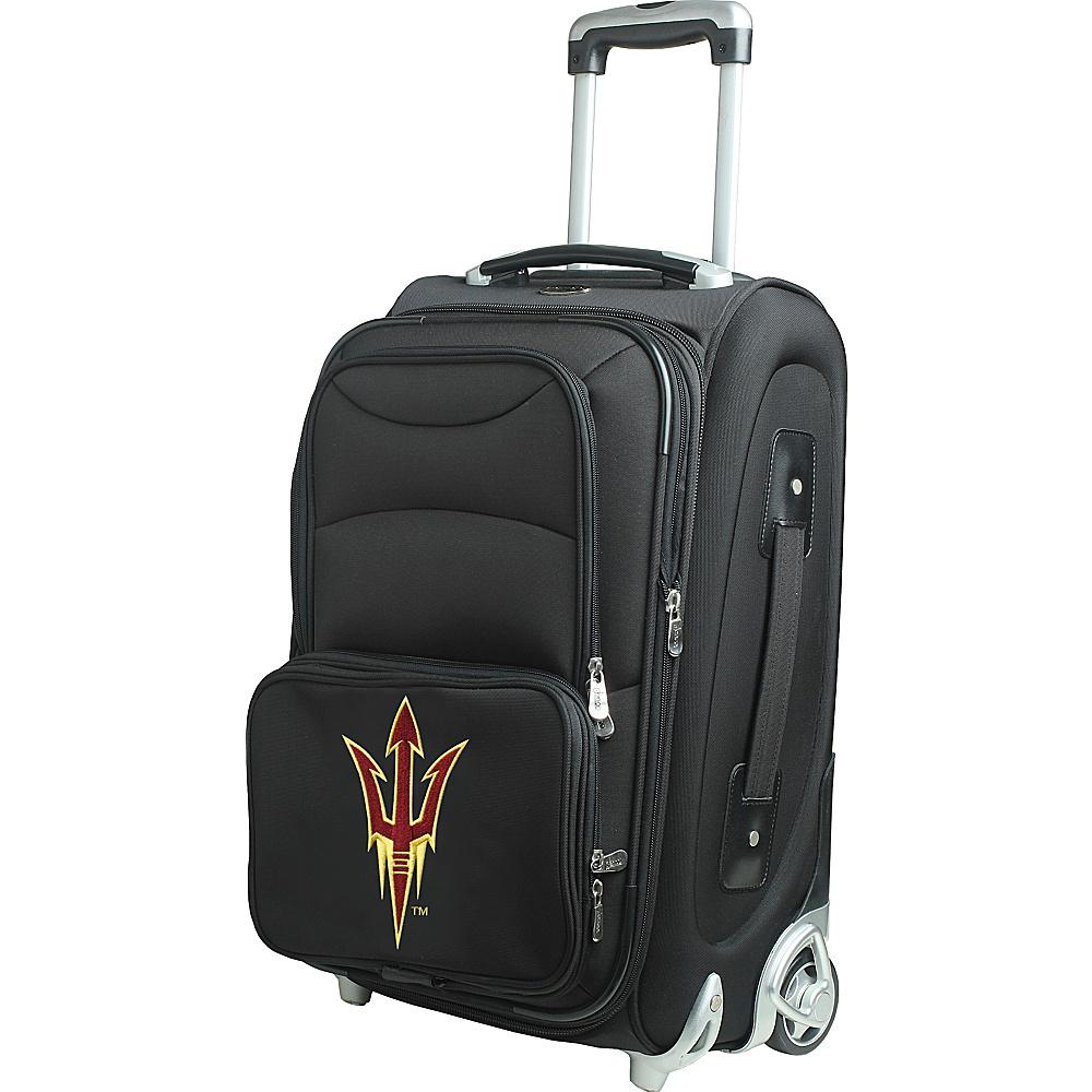 Denco Sports Luggage NCAA 21 Wheeled Upright Arizona State University Sun Devils - Denco Sports Luggage Softside Carry-On - Luggage, Softside Carry-On