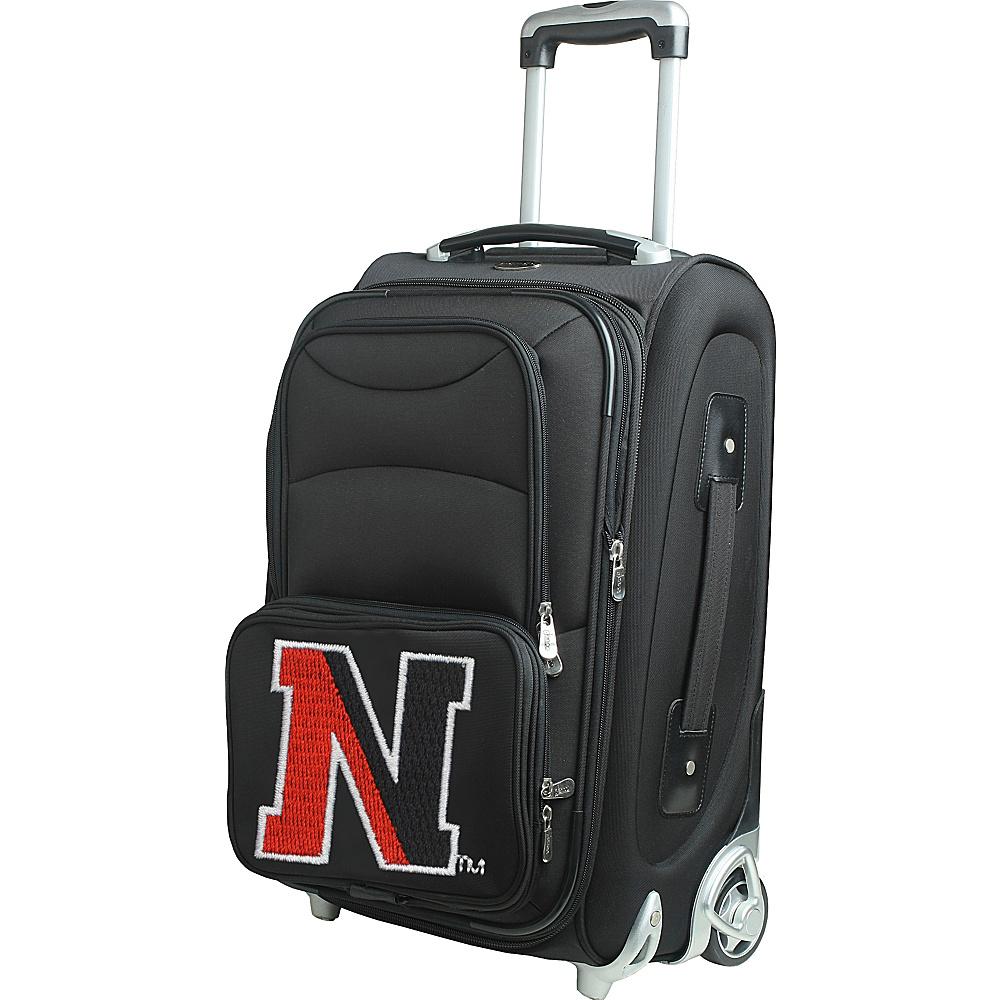 Denco Sports Luggage NCAA 21 Wheeled Upright Northeastern University Huskies - Denco Sports Luggage Softside Carry-On - Luggage, Softside Carry-On