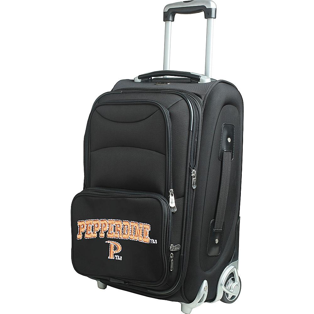 Denco Sports Luggage NCAA 21 Wheeled Upright Pepperdine University Waves - Denco Sports Luggage Softside Carry-On - Luggage, Softside Carry-On