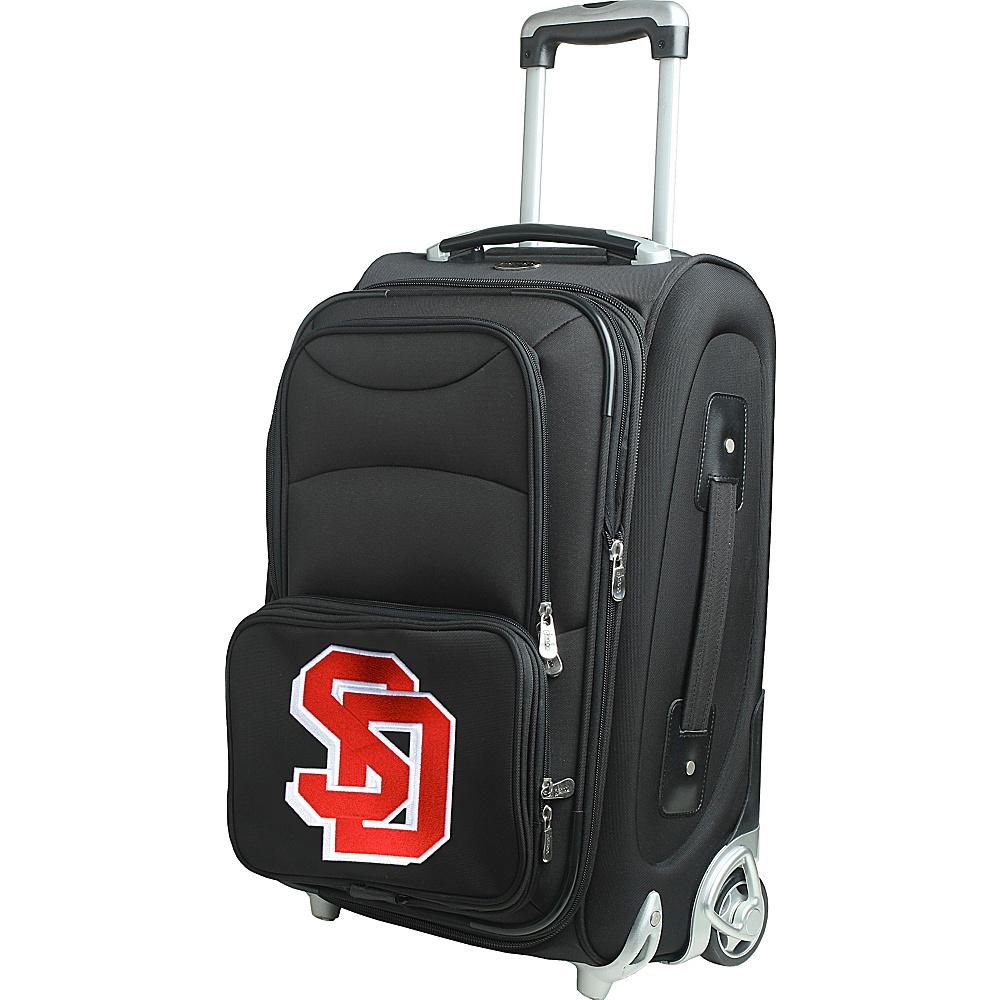 Denco Sports Luggage NCAA 21 Wheeled Upright South Dakota State University Jackrabbits - Denco Sports Luggage Softside Carry-On - Luggage, Softside Carry-On
