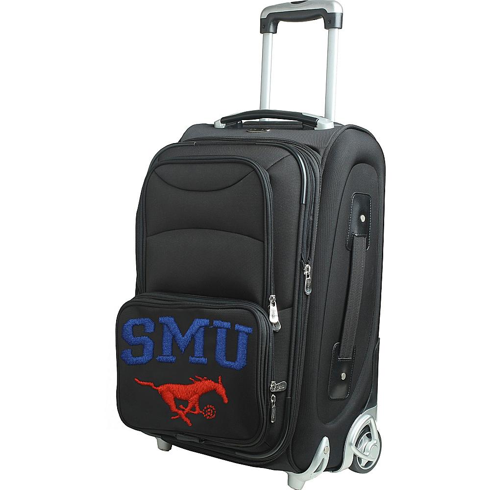 Denco Sports Luggage NCAA 21 Wheeled Upright Southern Methodist University Mustangs - Denco Sports Luggage Softside Carry-On - Luggage, Softside Carry-On