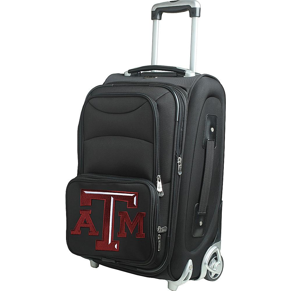 Denco Sports Luggage NCAA 21 Wheeled Upright Texas A&M University Aggies - Denco Sports Luggage Softside Carry-On - Luggage, Softside Carry-On